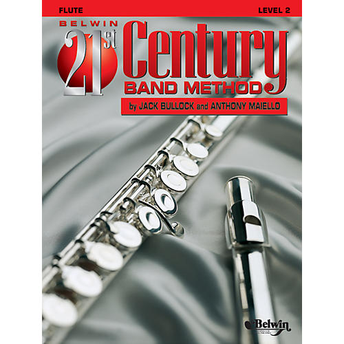 Alfred Belwin 21st Century Band Method Level 2 Flute Book thumbnail