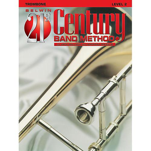 Alfred Belwin 21st Century Band Method Level 2 Trombone Book thumbnail