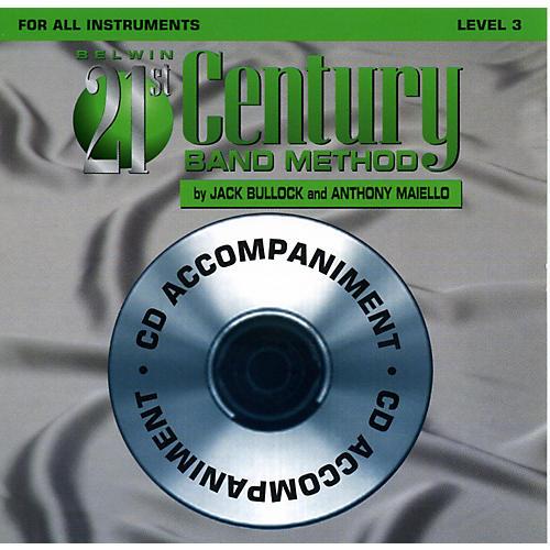 Alfred Belwin 21st Century Band Method Level 3 CD thumbnail