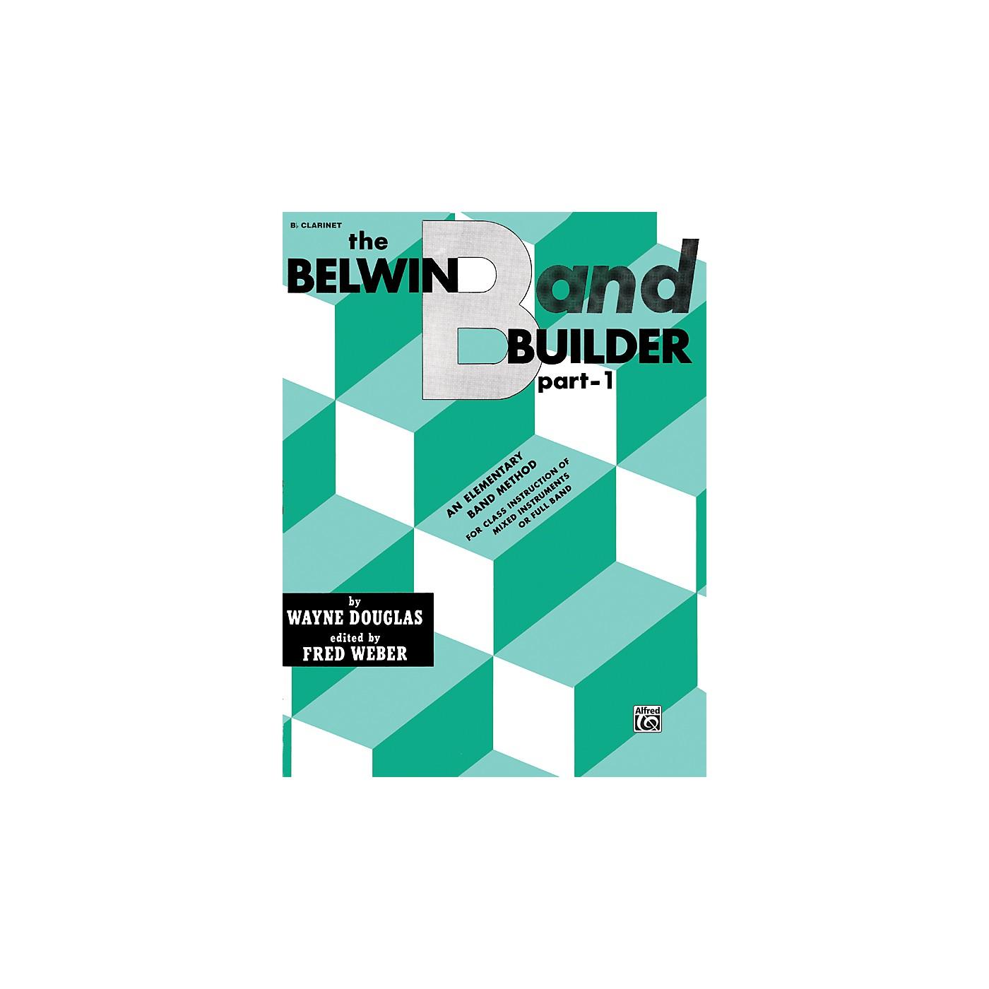 Alfred Belwin Band Builder Part 1 B-Flat Clarinet thumbnail