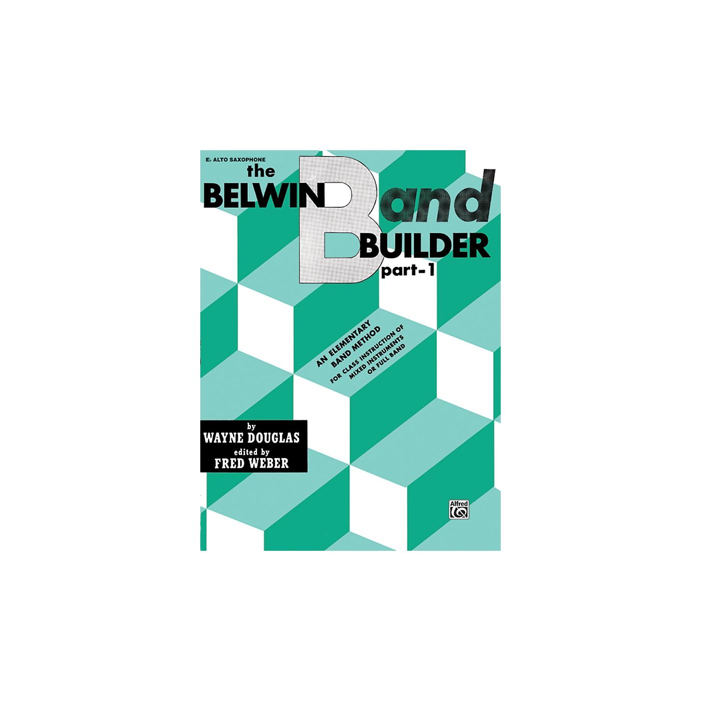 Alfred Belwin Band Builder Part 1 E-Flat Alto Saxophone thumbnail