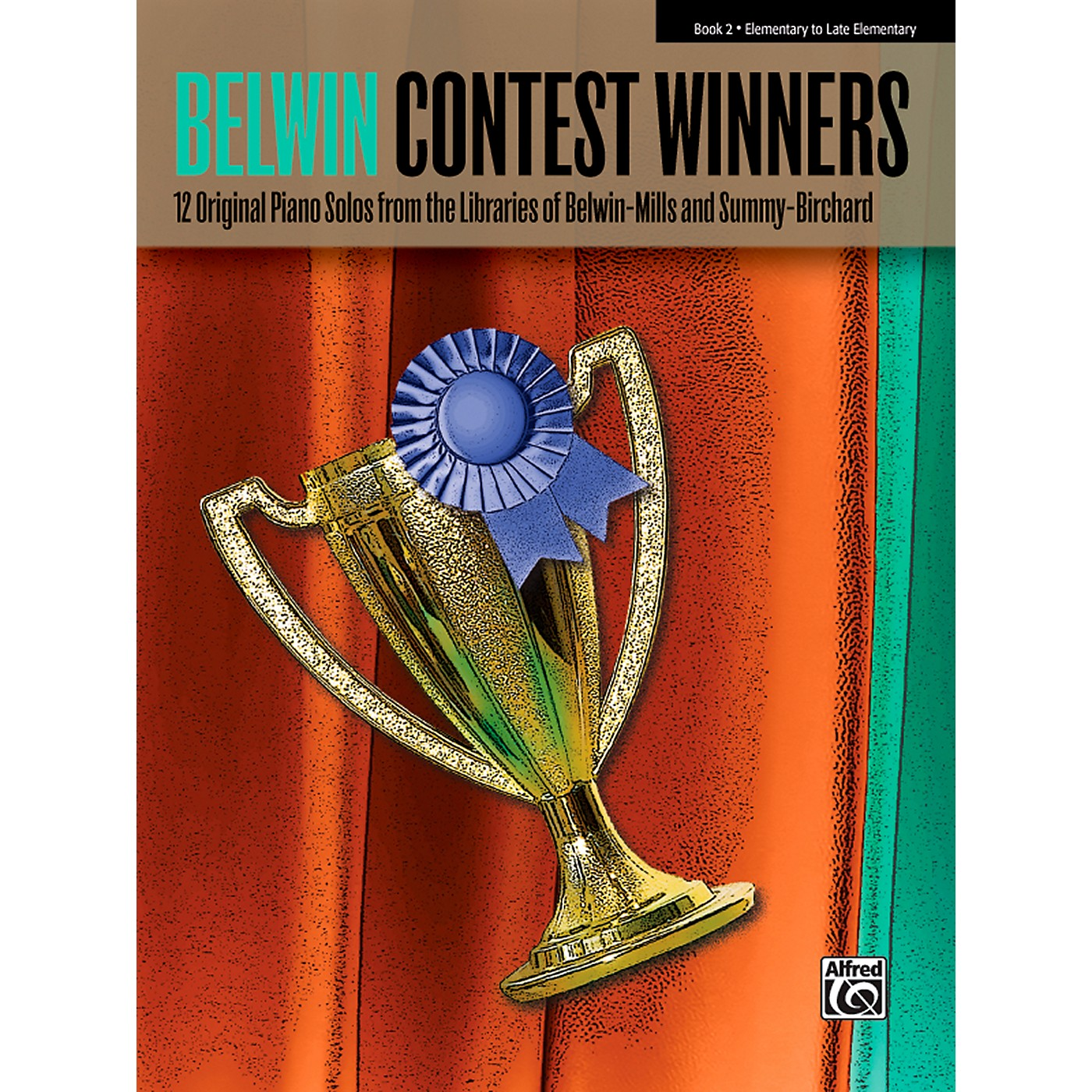 Alfred Belwin Contest Winners Piano Book 2 thumbnail