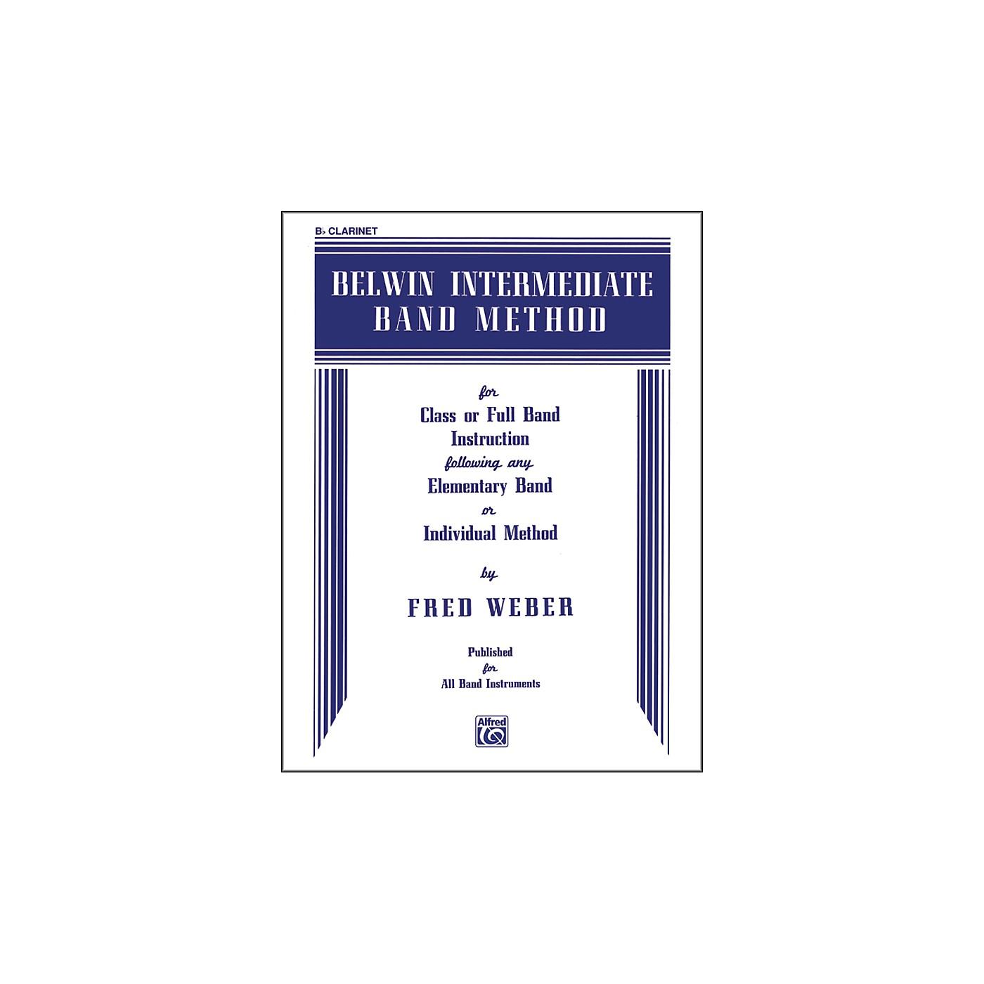 Alfred Belwin Intermediate Band Method B-Flat Clarinet thumbnail