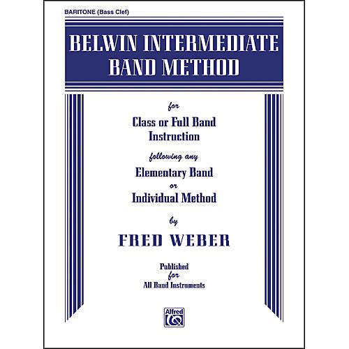 Alfred Belwin Intermediate Band Method Baritone B.C. thumbnail
