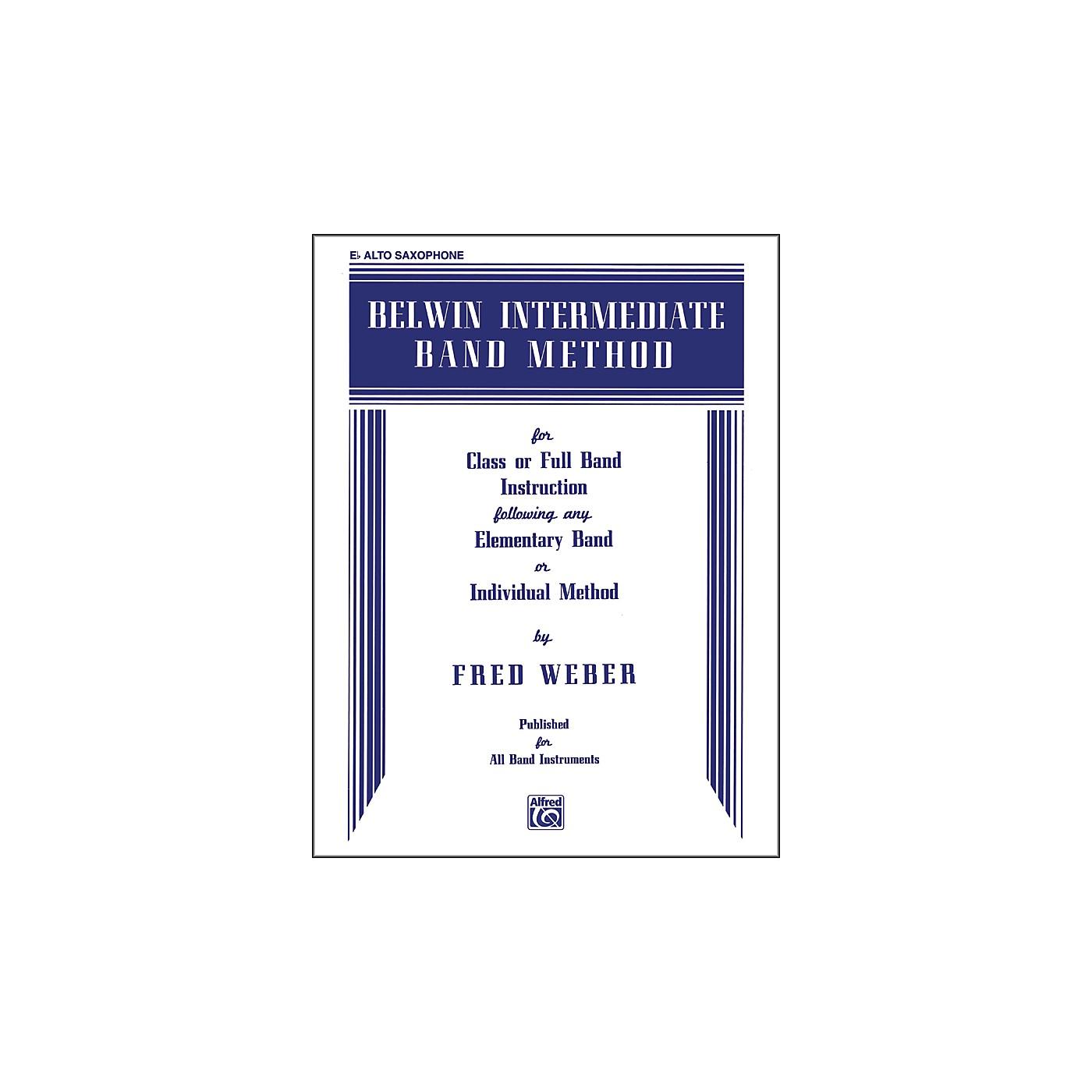 Alfred Belwin Intermediate Band Method E-Flat Alto Saxophone thumbnail
