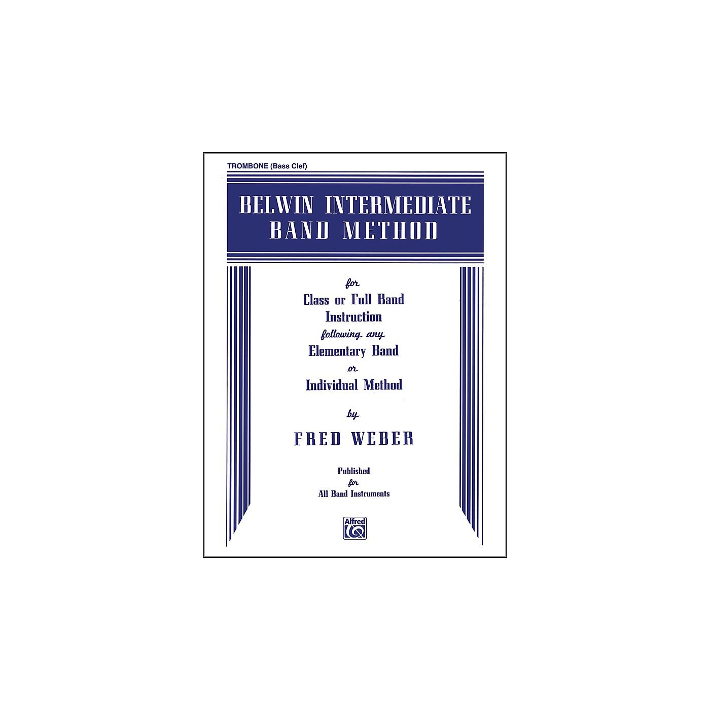 Alfred Belwin Intermediate Band Method Trombone (B.C.) thumbnail