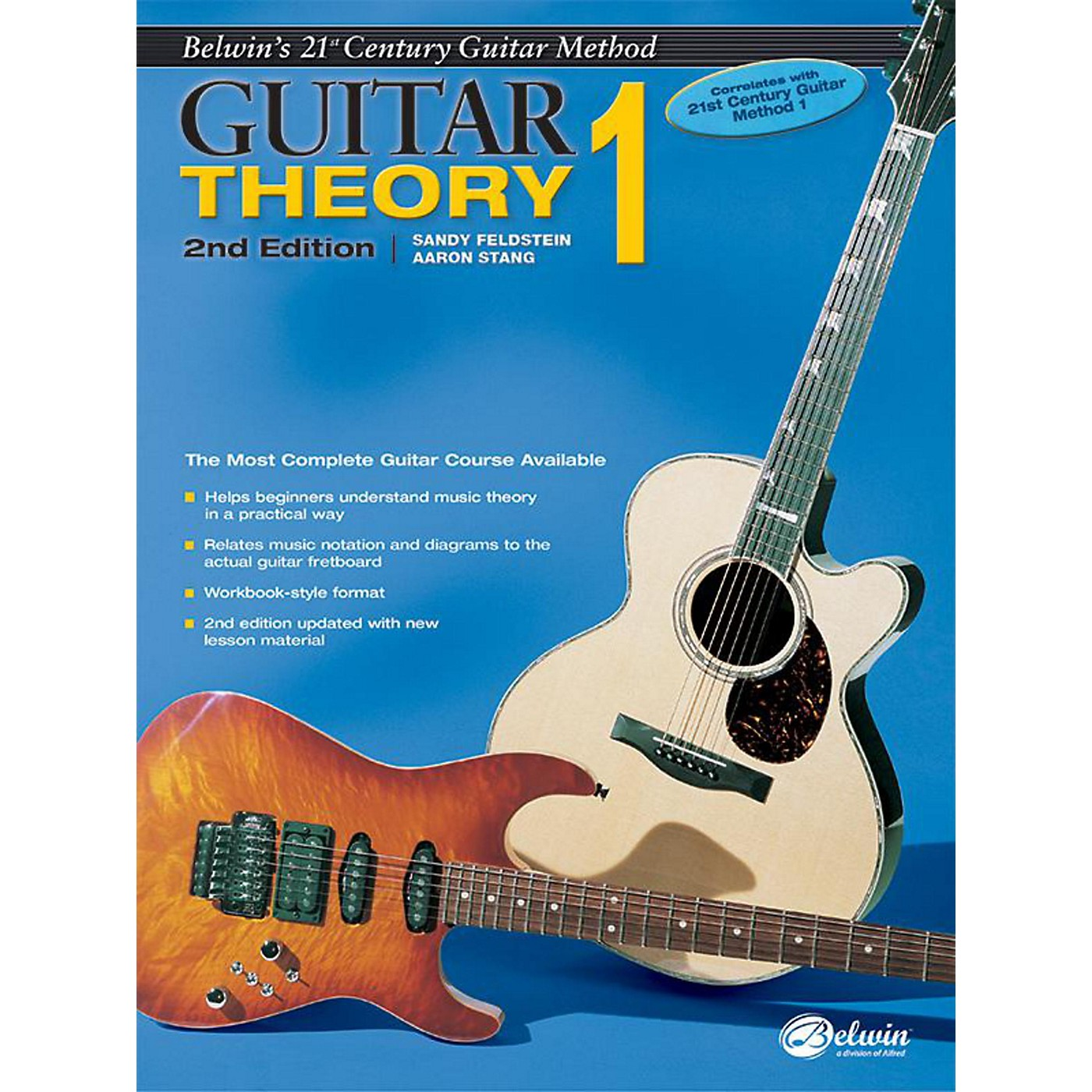 Alfred Belwin's 21st Century Guitar Theory Book 1 (2nd Edition) thumbnail