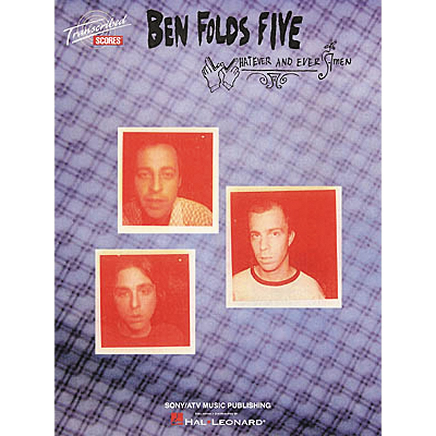 Hal Leonard Ben Folds Five - Whatever and Ever Amen Book thumbnail