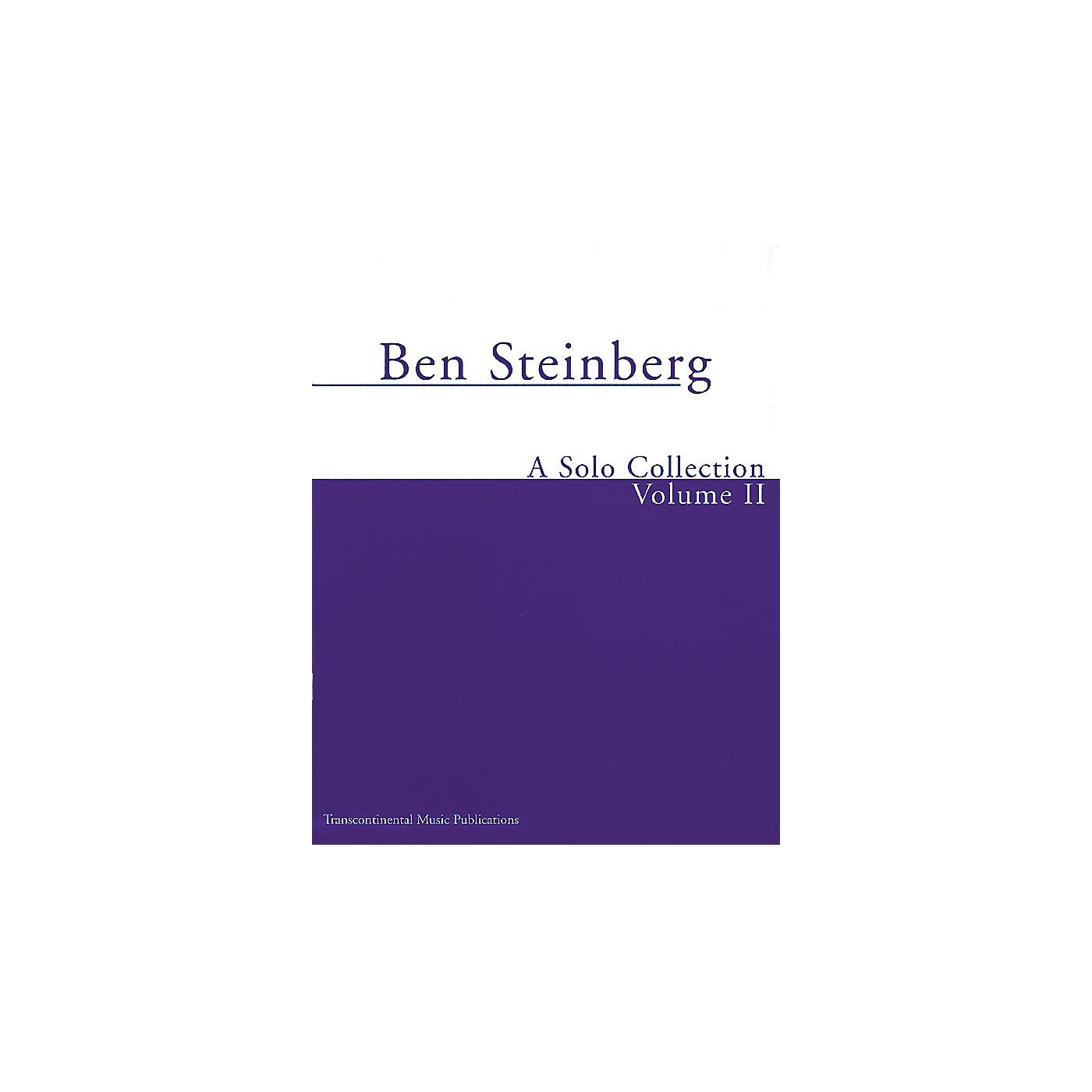 Transcontinental Music Ben Steinberg - A Solo Collection (Volume II) Transcontinental Music Folios Series thumbnail