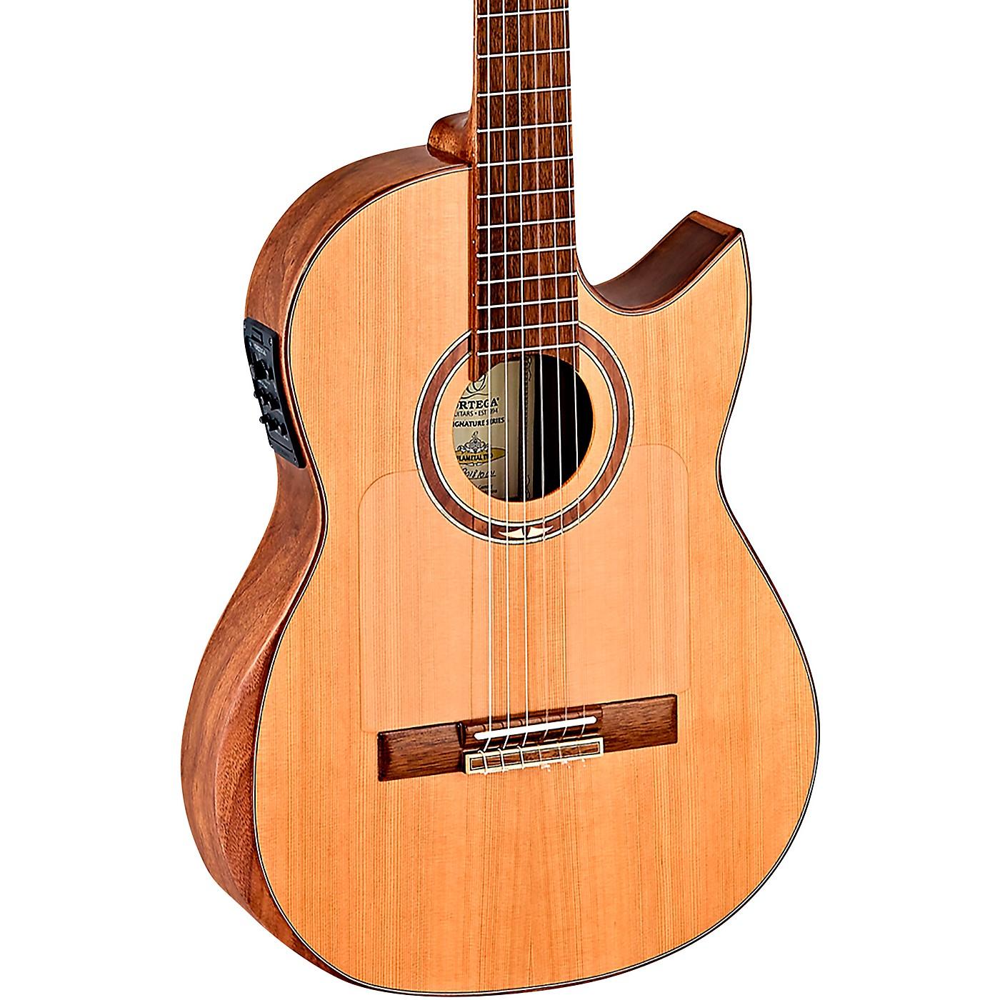 Ortega Ben Woods Flametal-Two Signature Flamenco Guitar thumbnail