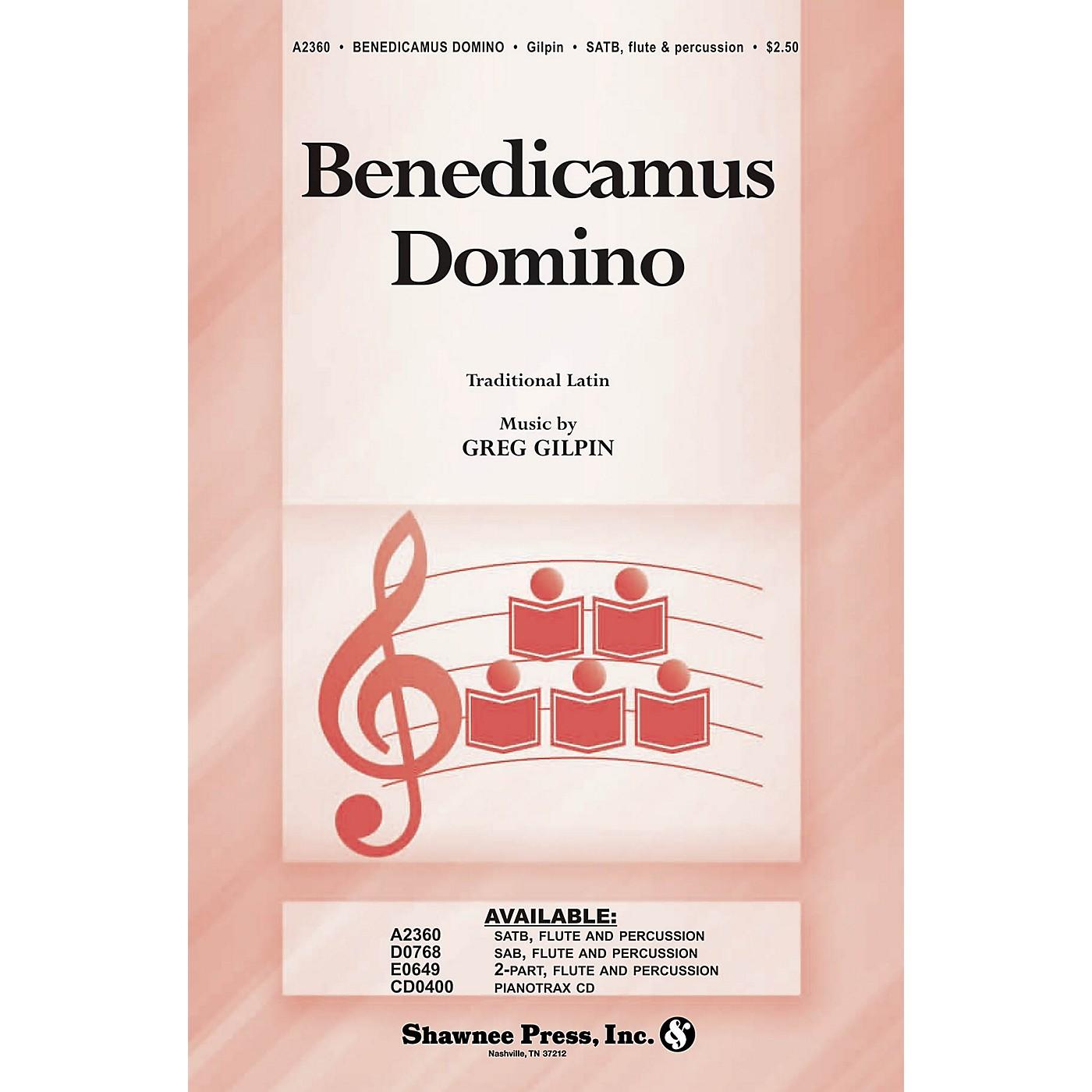 Shawnee Press Benedicamus Domino SATB composed by Greg Gilpin thumbnail