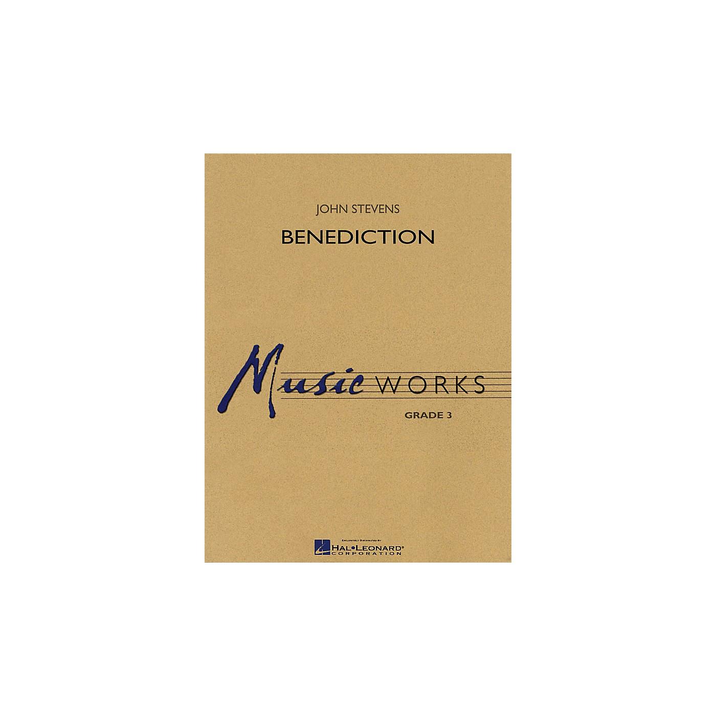 Hal Leonard Benediction Concert Band Level 3 Composed by John Stevens thumbnail