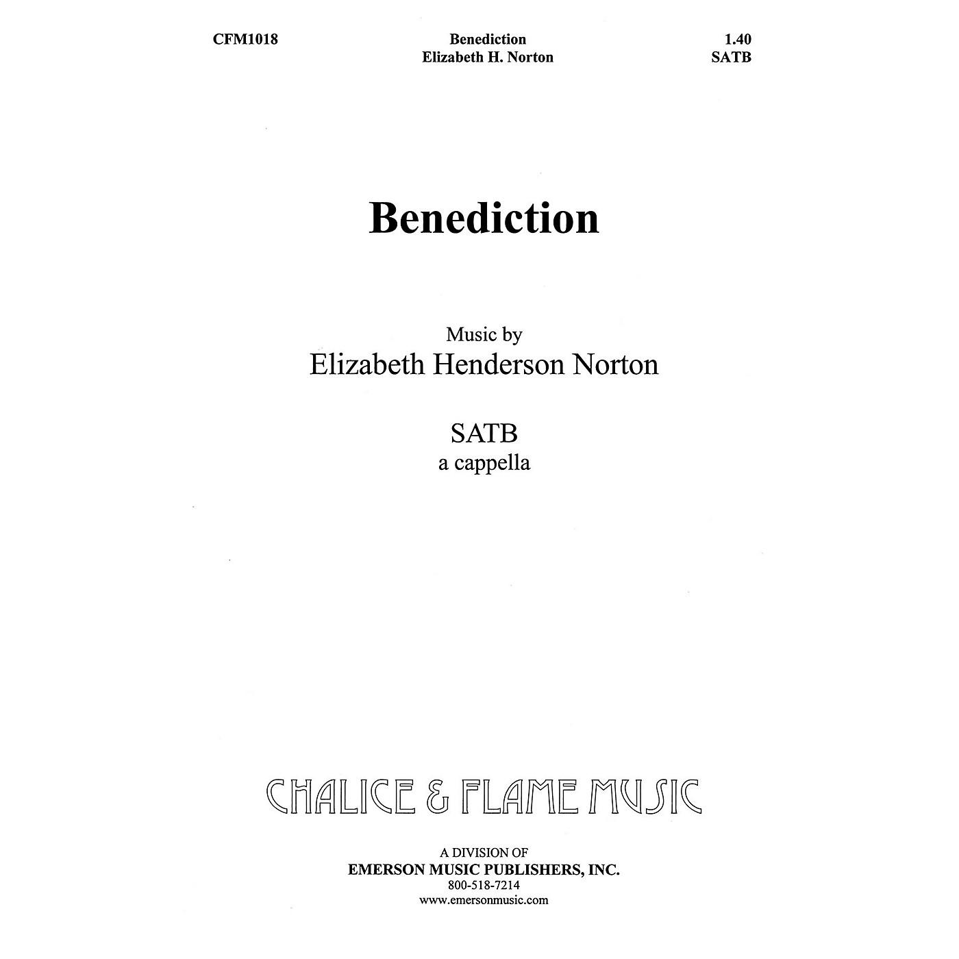 Hal Leonard Benediction SATB composed by Elizabeth Norton thumbnail