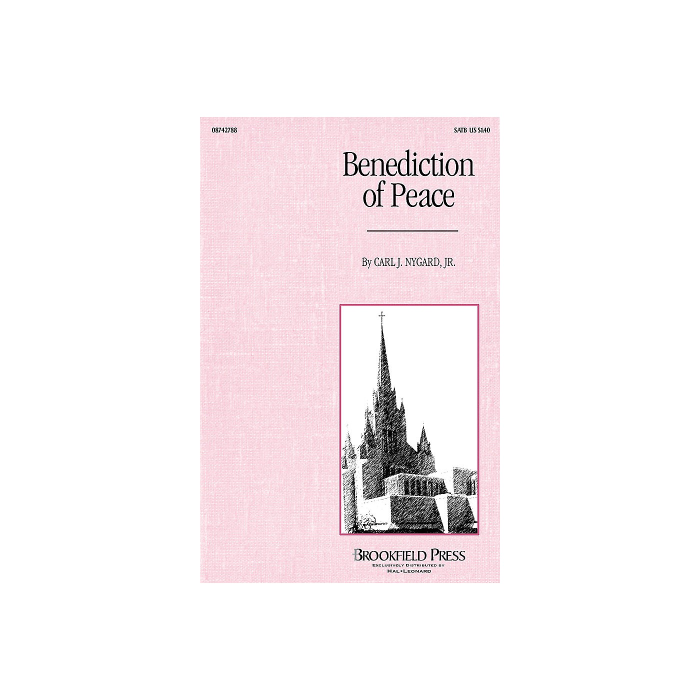 Brookfield Benediction of Peace SATB composed by Carl Nygard, Jr. thumbnail