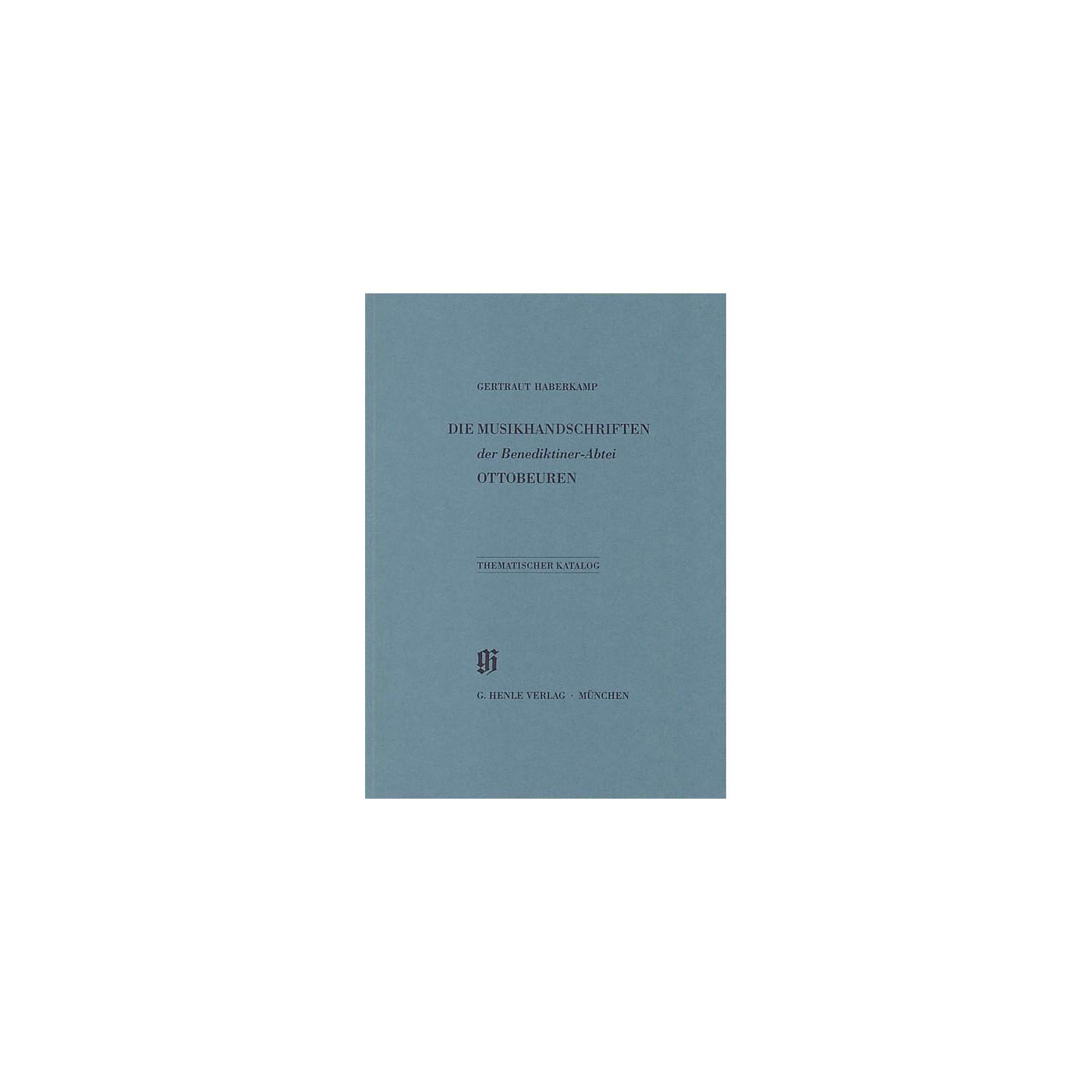 G. Henle Verlag Benediktiner-Abtei Ottobeuren Henle Books Series Softcover thumbnail
