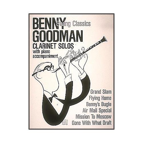 Hal Leonard Benny Goodman Swing Classics Clarinet Solos with Piano Accompaniment thumbnail