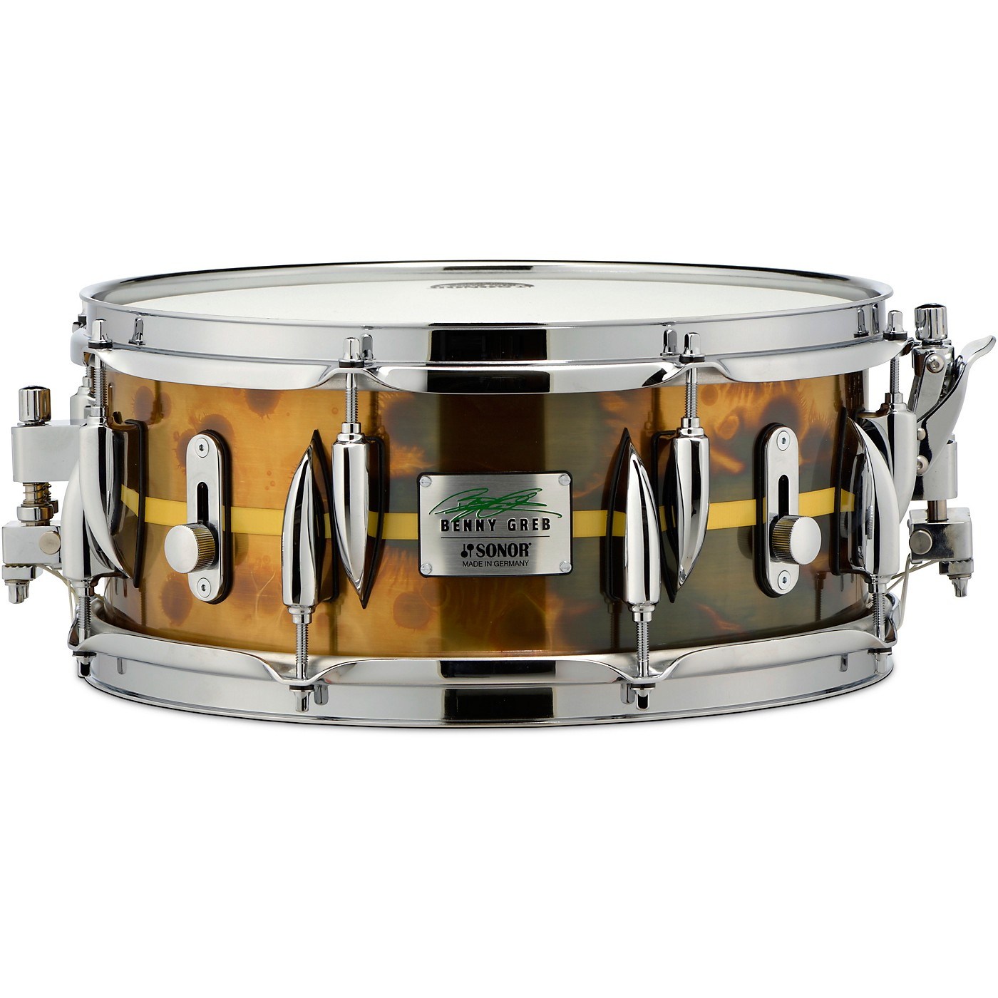 Sonor Benny Greb Brass Signature Snare Drum thumbnail