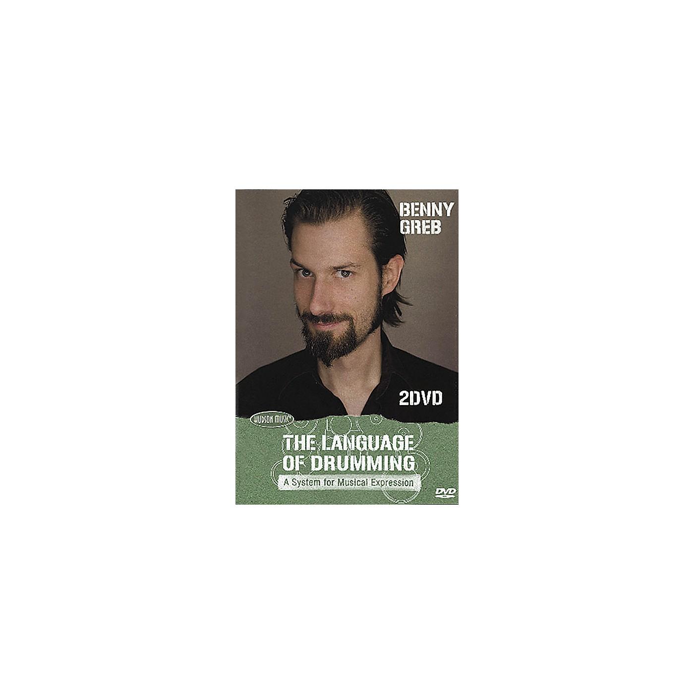 Hudson Music Benny Greb: The Language of Drumming 2-DVD Set thumbnail