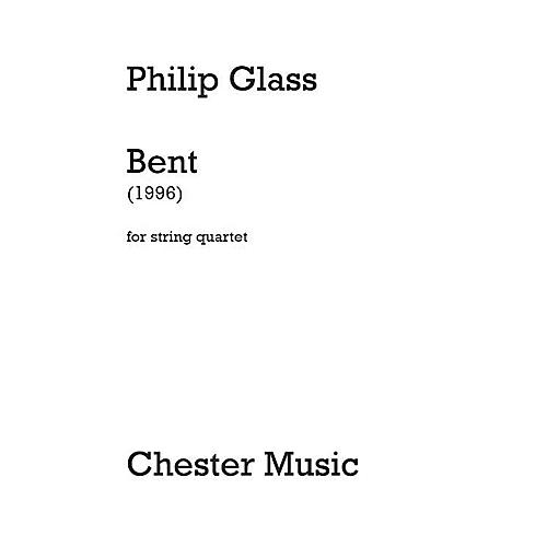 Dunvagen Bent (String Quartet) Music Sales America Series Softcover Composed by Philip Glass thumbnail