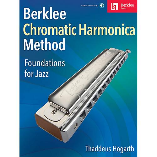 Berklee Press Berklee Chromatic Harmonica Method Foundations for Jazz Book/Audio Online thumbnail