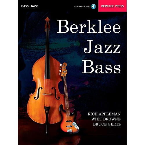 Berklee Press Berklee Jazz Bass Berklee Press Book/Audio Online thumbnail