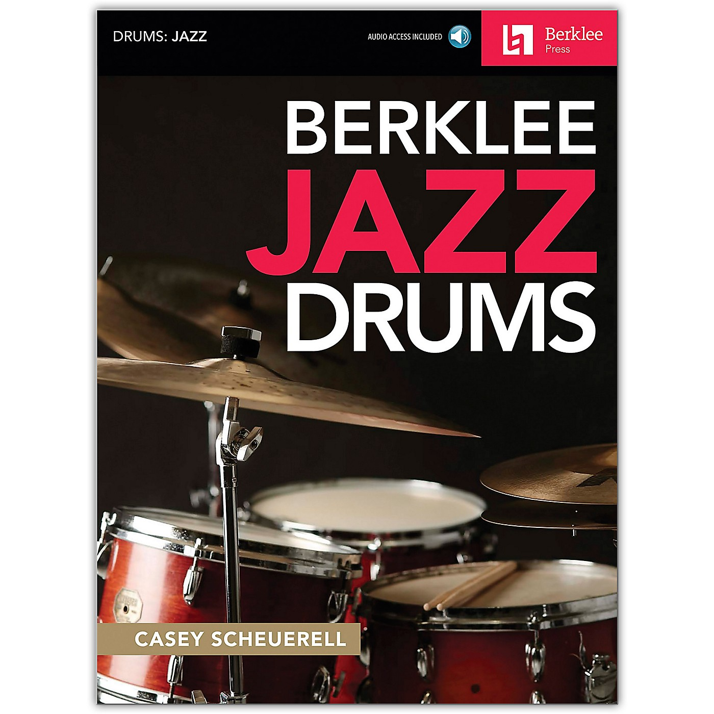 Berklee Press Berklee Jazz Drums Book/Audio Online thumbnail