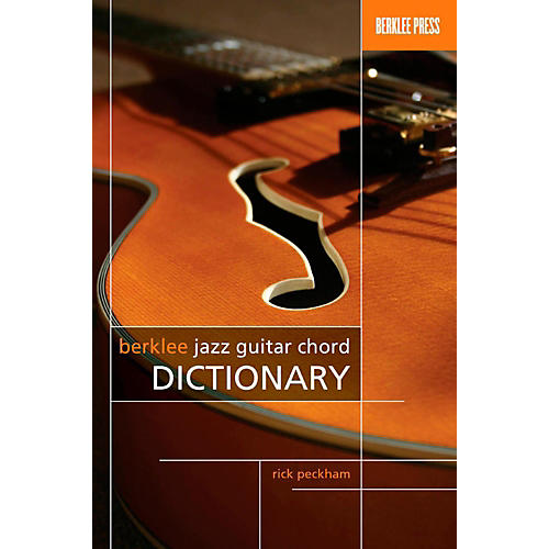 Berklee Press Berklee Jazz Guitar Chord Dictionary thumbnail