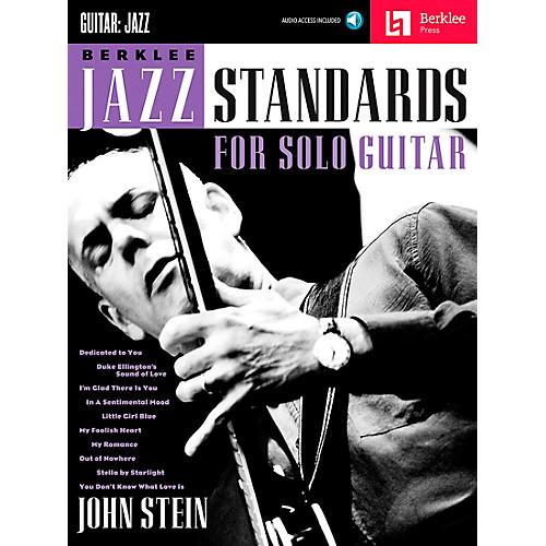 Berklee Press Berklee Jazz Standards For Solo Guitar - Berklee Press Book/Online Audio thumbnail