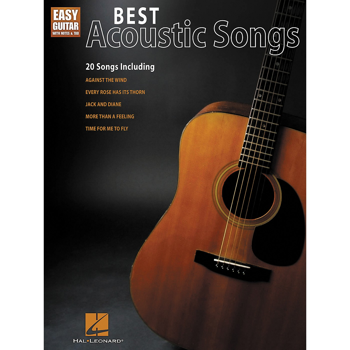 Hal Leonard Best Acoustic Songs - Easy Guitar With Notes & Tab Series thumbnail