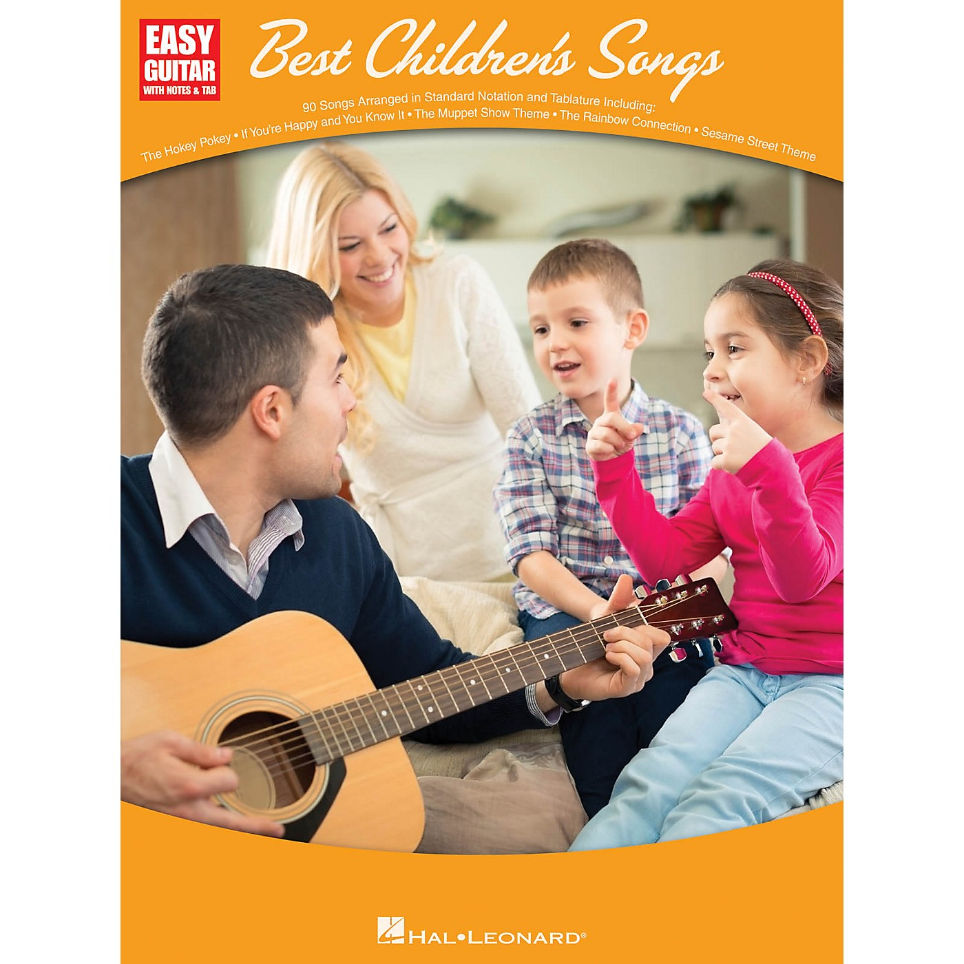 Hal Leonard Best Children's Songs (Easy Guitar with Notes & Tab) Easy Guitar Series Softcover thumbnail