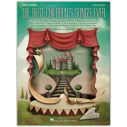 Hal Leonard Best Children's Songs Ever for Easy Piano - 2nd Edition thumbnail