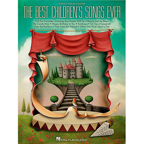 Hal Leonard Best Children's Songs Ever for Piano/Vocal/Guitar thumbnail