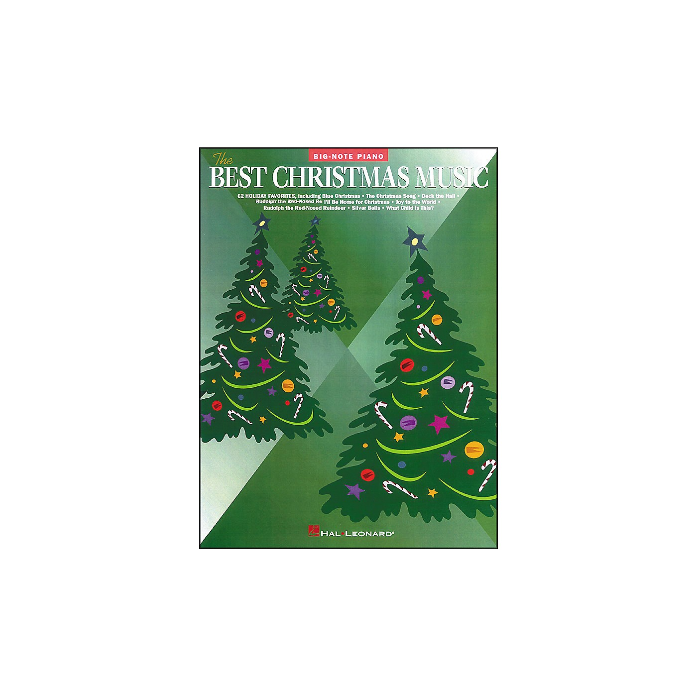 Hal Leonard Best Christmas Music for Big Note Piano thumbnail