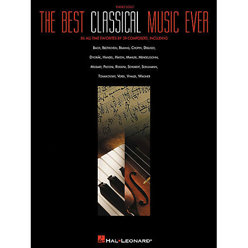 Hal Leonard Best Classical Music Ever arranged for piano solo thumbnail
