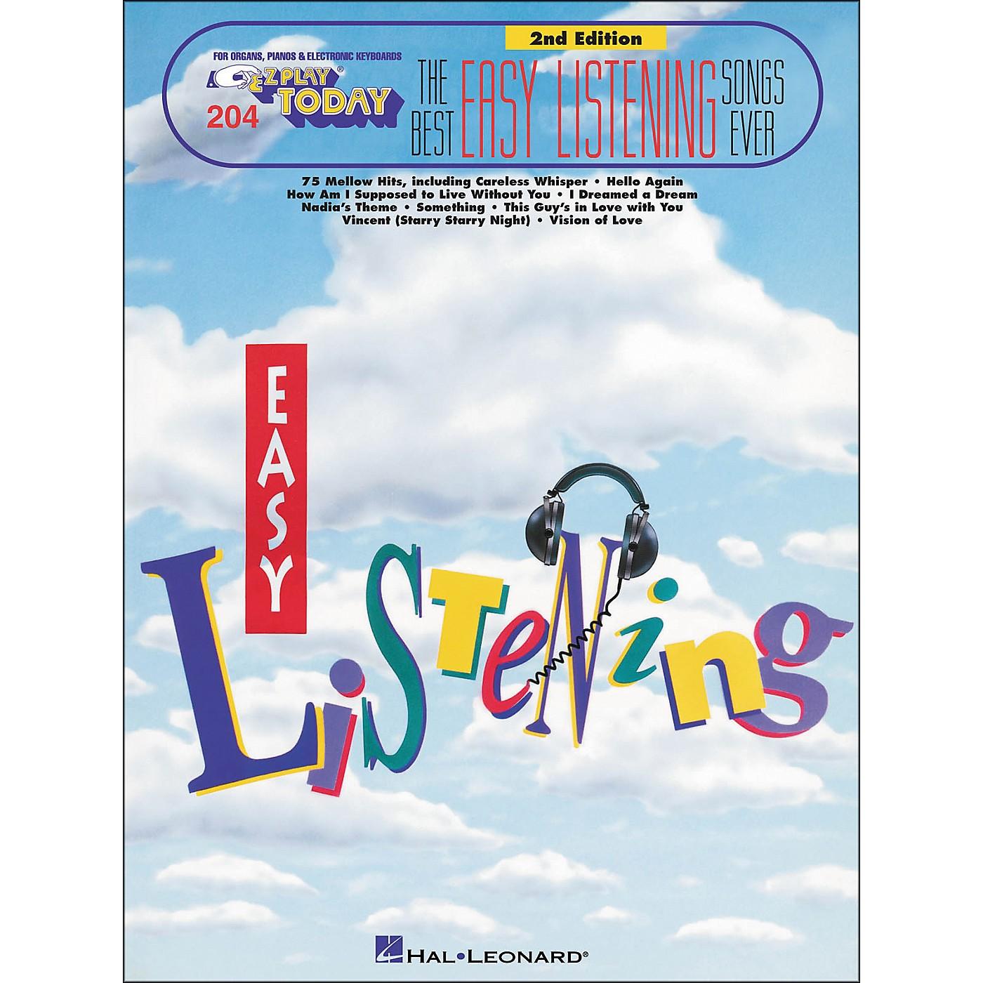 Hal Leonard Best Easy Listening Ever 2nd Edition E-Z Play 204 thumbnail