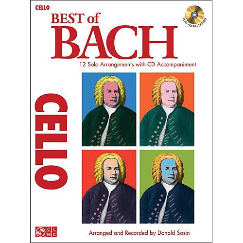 Cherry Lane Best Of Bach Cello thumbnail