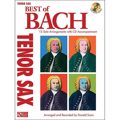 Cherry Lane Best Of Bach Tenor Sax-thumbnail