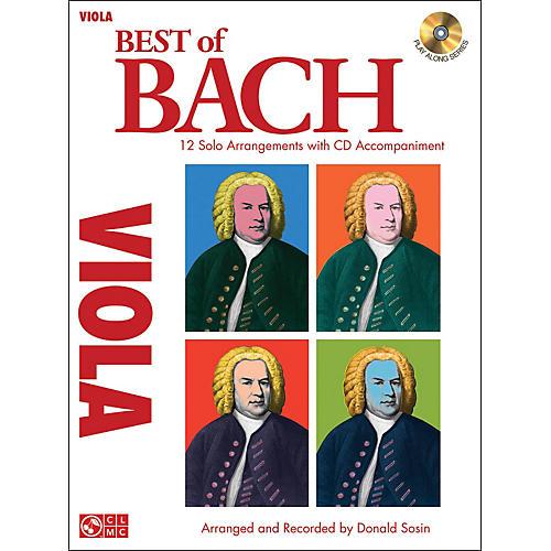 Cherry Lane Best Of Bach Viola thumbnail