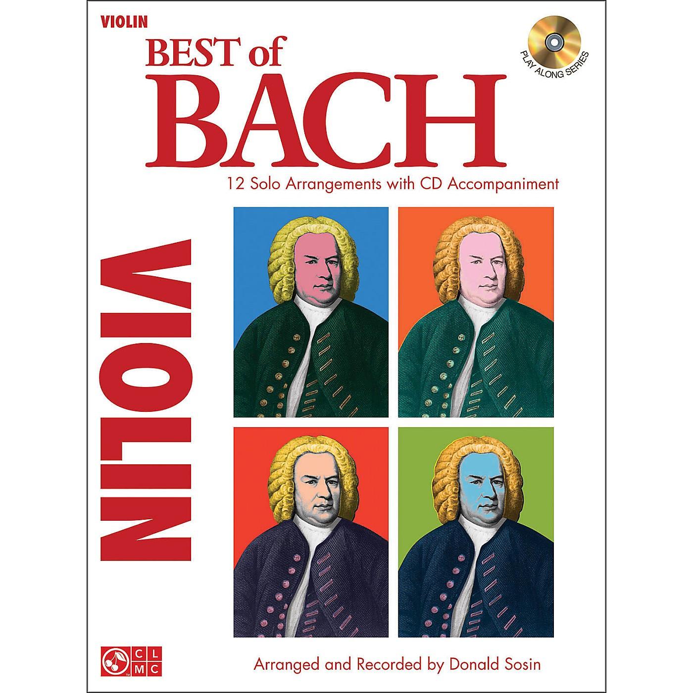 Cherry Lane Best Of Bach Violin thumbnail