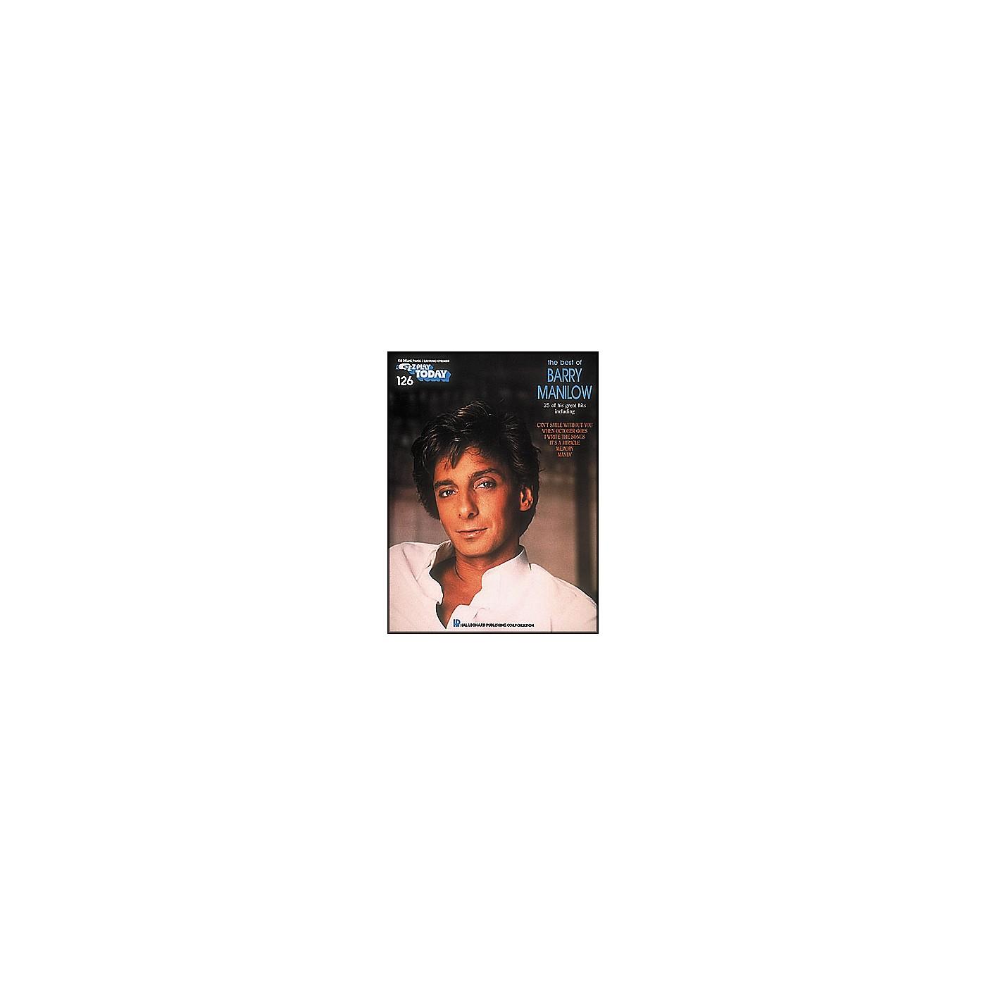 Hal Leonard Best Of Barry Manilow E-Z Play 126 thumbnail