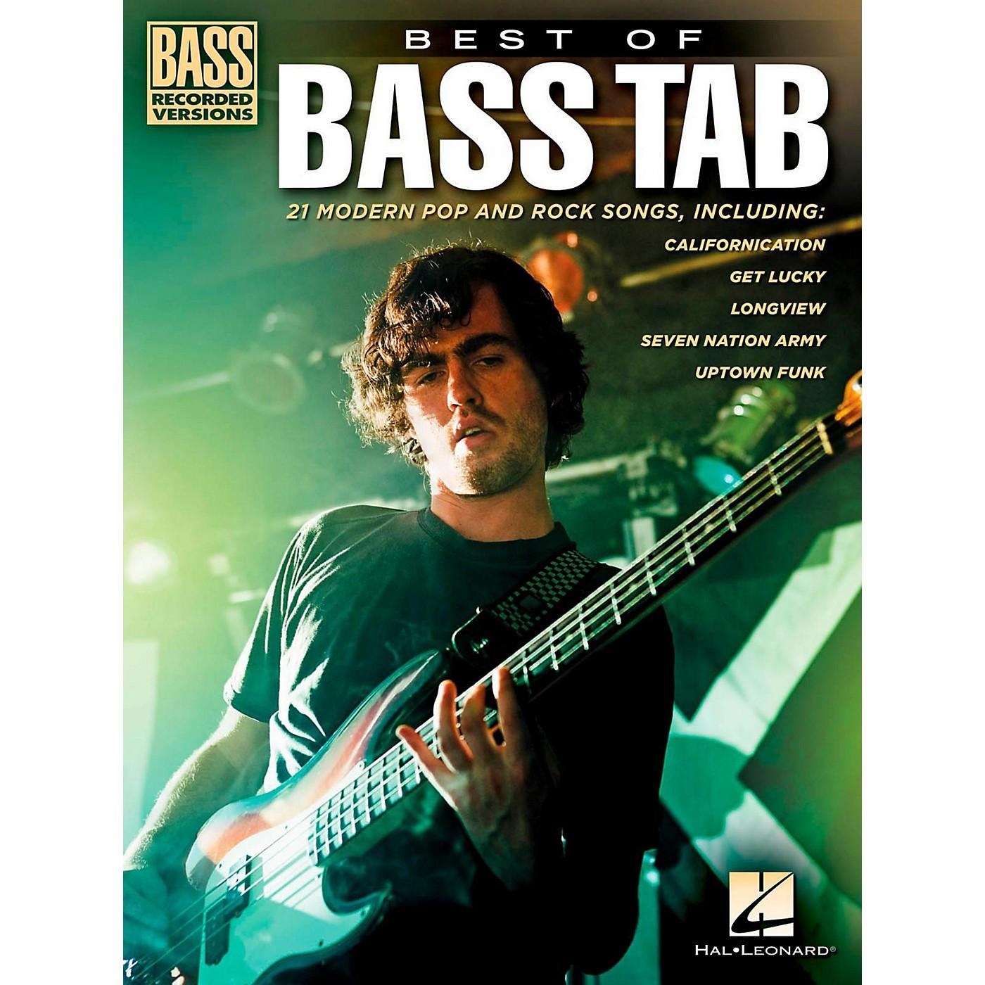 Hal Leonard Best Of Bass Tab thumbnail