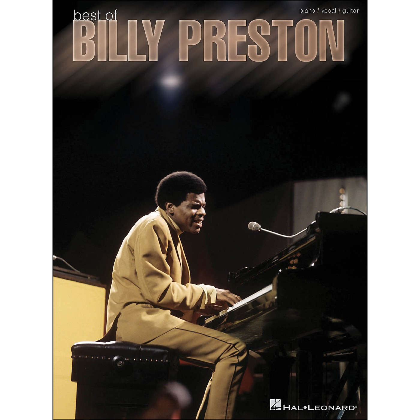 Hal Leonard Best Of Billy Preston arranged for piano, vocal, and guitar (P/V/G) thumbnail