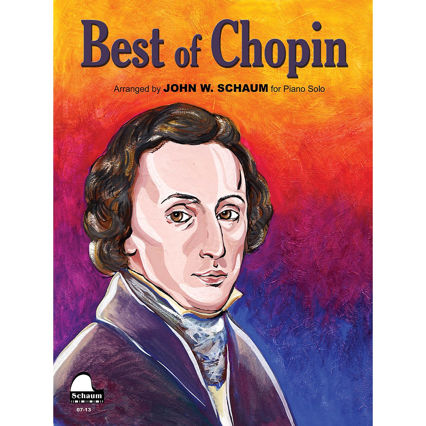 SCHAUM Best Of Chopin Educational Piano Series Softcover thumbnail