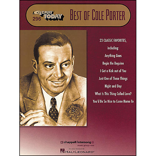 Hal Leonard Best Of Cole Porter E-Z Play 296 thumbnail