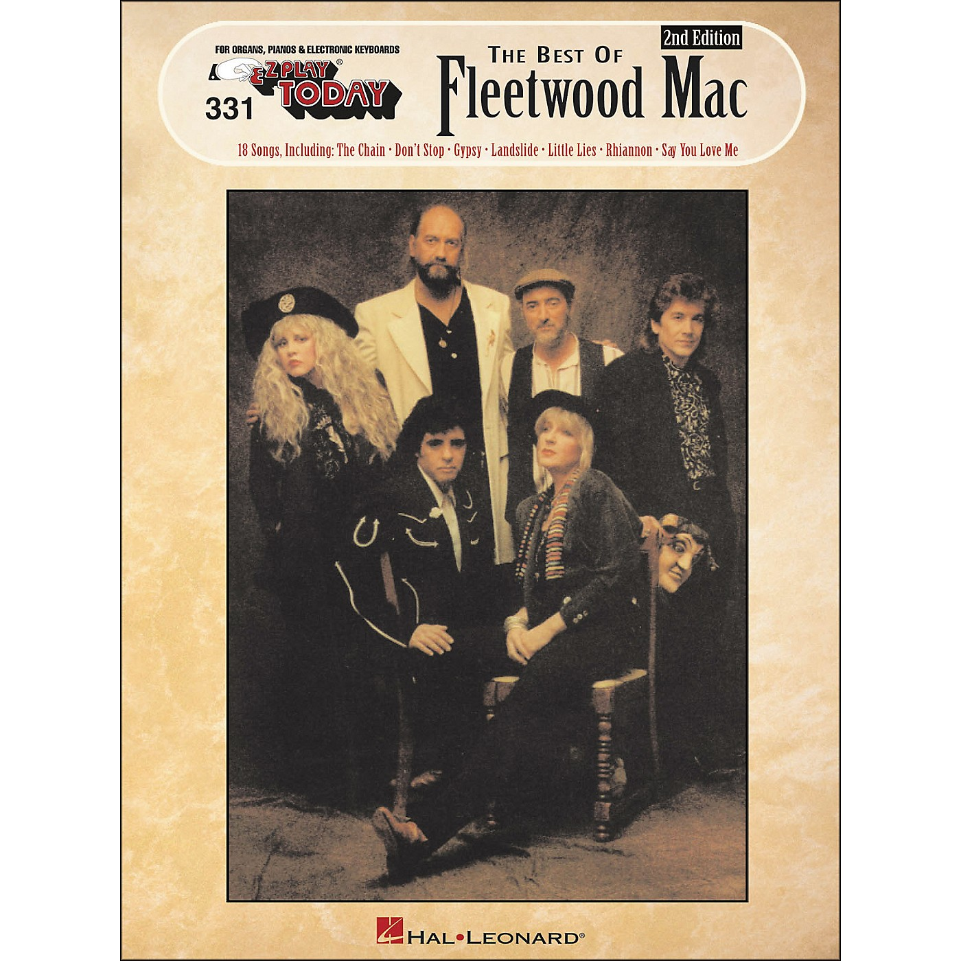 Hal Leonard Best Of Fleetwood Mac 2nd Edition E-Z Play 331 thumbnail