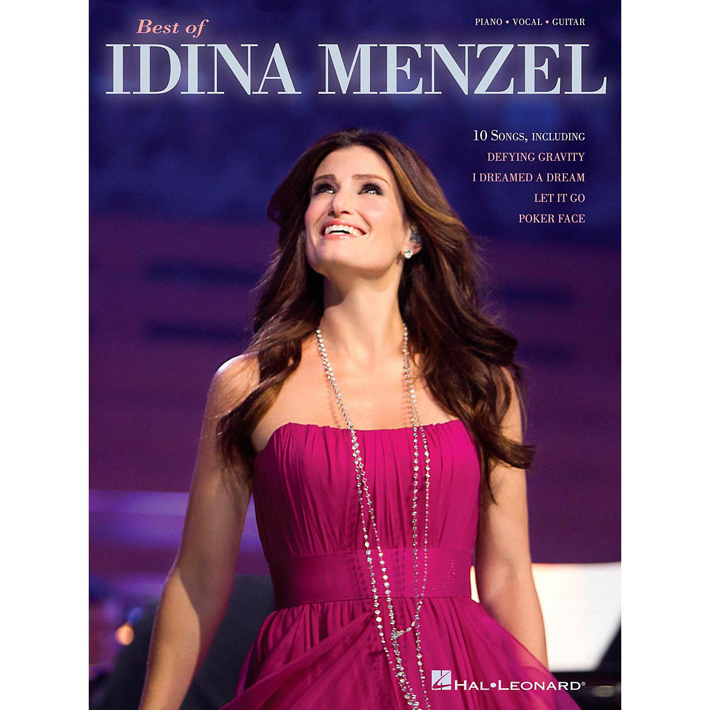 Hal Leonard Best Of Idina Menzel Piano/Vocal/Guitar Songbook thumbnail