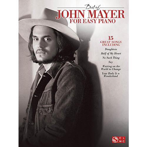 Cherry Lane Best Of John Mayer For Easy Piano-thumbnail