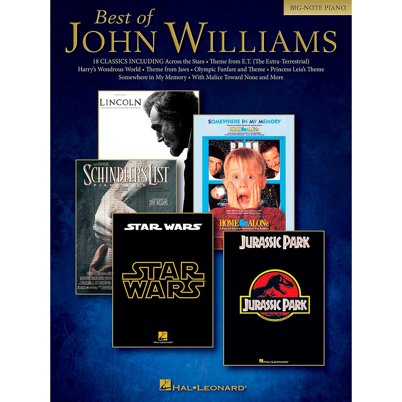 Hal Leonard Best Of John Williams For Big Note Piano thumbnail