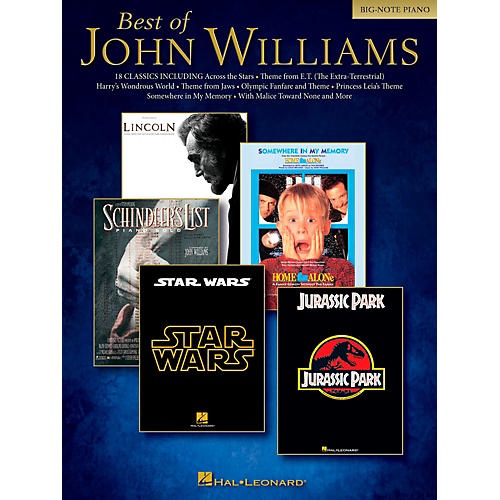 Hal Leonard Best Of John Williams For Big Note Piano thumbnail