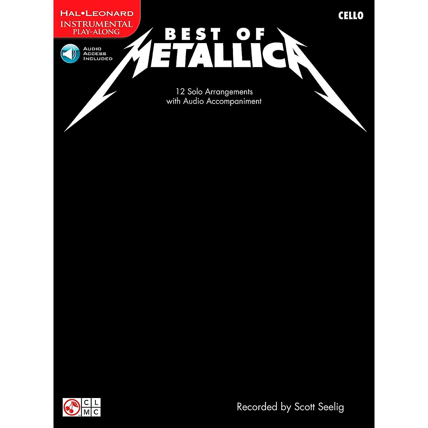 Cherry Lane Best Of Metallica Cello thumbnail
